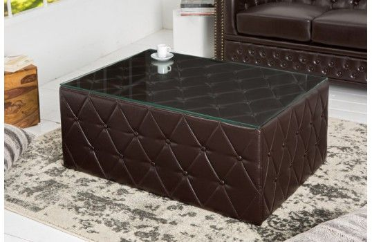 82 best table basse design images on pinterest salons cabinet and chesterf - Table basse chesterfield ...