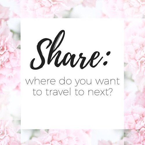 Hello #buzzingcreatives 🐝👩🏽💻👩🏽🎨, let's take the opportunity to get to know more about one another! . In the comments below Share: Where do you want to travel next? 🌎 . I would love to go back to Italy 🍕or bora bora! 🏝