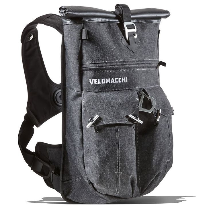 VELOMACCHI 28L SPEEDWAY ROLLTOP BACKPACK Bike EXIF