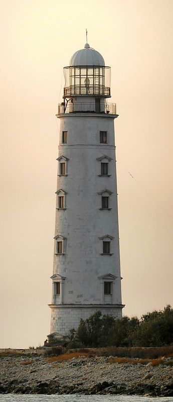 Chersones Lighthouse, Ukraine...impressionnant...ah oui..