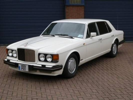 Used 1991 ( reg) White Bentley Turbo R L 6.8 for sale on RAC Cars