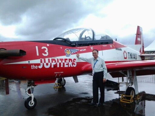 Tim Aerobatic Jupiter, Indonesian Air Force, at Rimba Air Base, Brunei