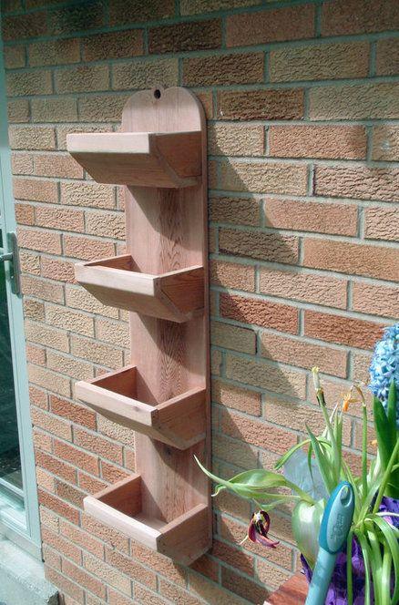 4 Tiered Hanging Herb Planter - by RedBeard @ LumberJocks.com ~ woodworking community