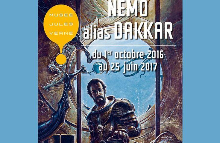 Comment ne pas vous parler de cette exposition ? Elle retrace l'histoire du capitaine #Nemo, génial capitaine du sous-marin #Nautilus. Créé par Jules Verne, célèbre nantais s'il en fut, et non sans nous rappeler les aventures de La Pérouse ! Réservez votre chambre à l'hôtel, et naviguez jusqu'au musée Jules Verne ! http://www.hotel-laperouse.fr/actualites-nantes/302-nemo-alias-dakkar-musee-jules-verne.html