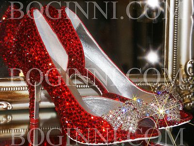 Gl And Crystal Wedding Shoes