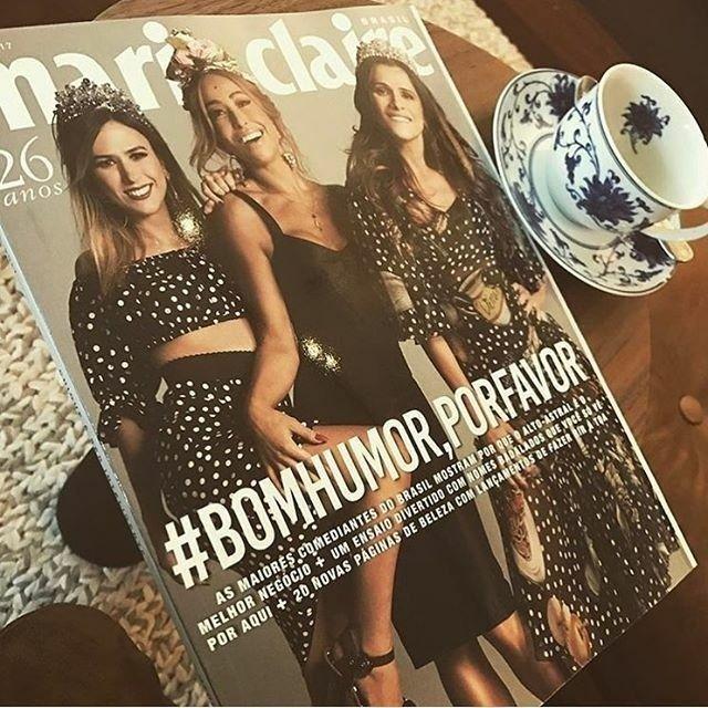 @TataWerneck uma de nossas cover girls superdivertidas começou o dia lendo nossa edição de abril --que traz as maiores comediantes do país. . . . #Regram #MarieClaire #BomHumor #BomHumorPorFavor #TataWeneck #BomDia #SabrinaSato #IngridGuimarães @Sabrinasato @IngridGuimaraesOficial @ClaraFalcao @aJuliaRabello @CalabresaDani #Humor  via MARIE CLAIRE BRASIL MAGAZINE OFFICIAL INSTAGRAM - Celebrity  Fashion  Haute Couture  Advertising  Culture  Beauty  Editorial Photography  Magazine Covers…