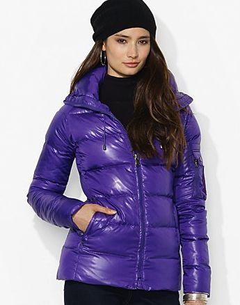 lauren by ralph lauren jacket - snow gear on #redsoledmomma.com