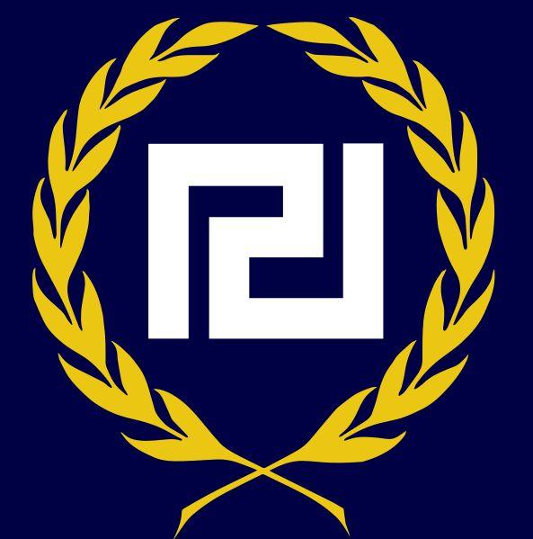 Golden Dawn, Political Party, Greece, Logo,  Ultranationalism, Neo-Nazism, Fascism, Far-right
