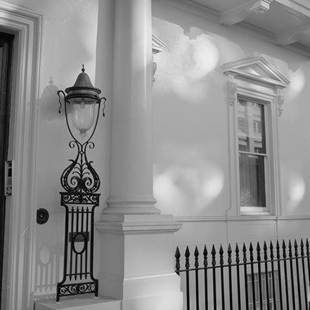 Material Matters: Glass #glass #london #lamp #victorian #london #carlton #house #terrace