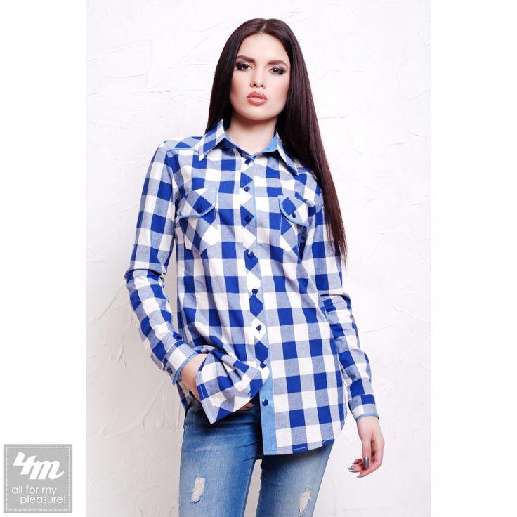 Блуза Glem «Канзас» (Белая клетка) http://lnk.al/4UwH  Состав: блузочная фланель (100% хлопок)  #блуза #блузка #блузы  #блузки #блузкакупить #блузавналичии #блузакиев #стильныйобраз #лукдня #мода #вещи #одеждаУкраина #4m #4mcomua