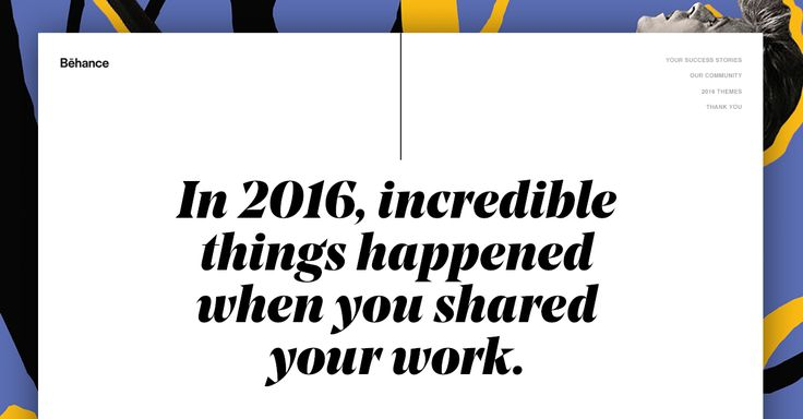 Top moments in the creative world: Behance's 2016 Year in Review