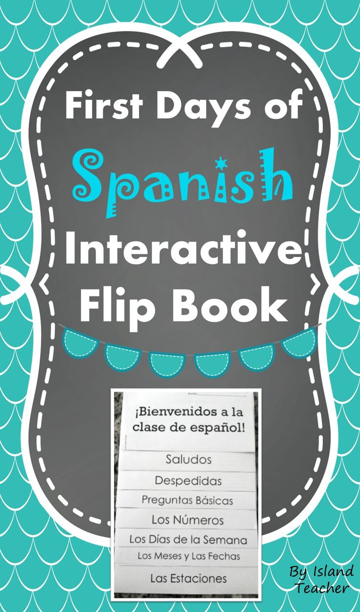 Interactive flip book on the basics of Spanish. Can stand alone or be added to an interactive notebook.