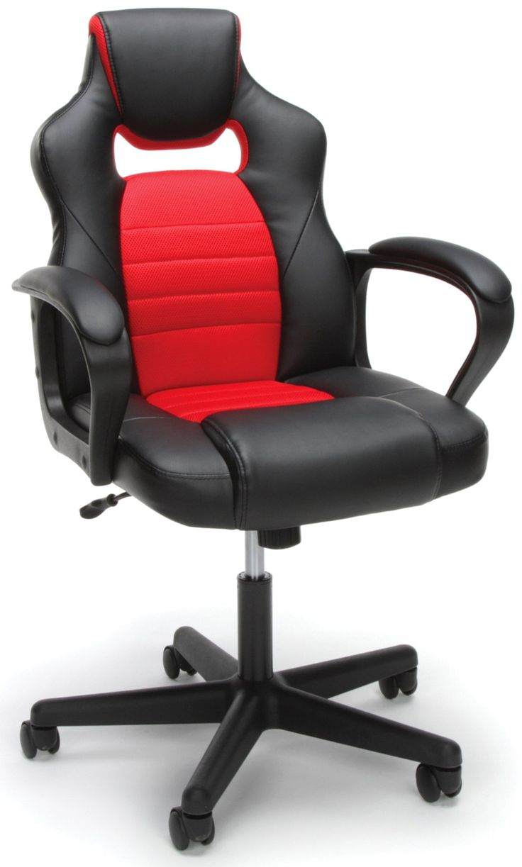 Red And Black Racing Style Gaming Chair
