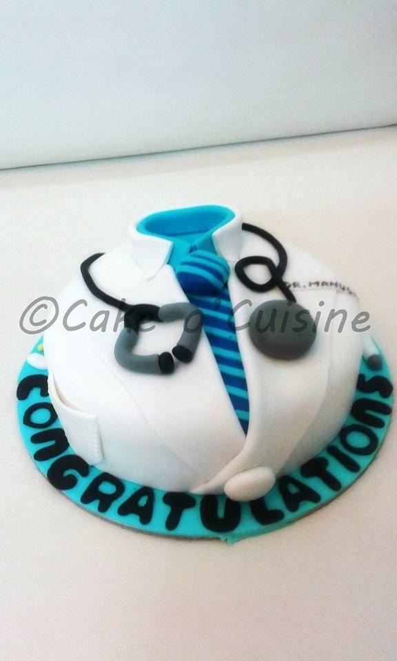 Doctor themed cake