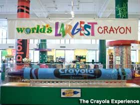 World's Largest Crayon, Crayola Factory in PA