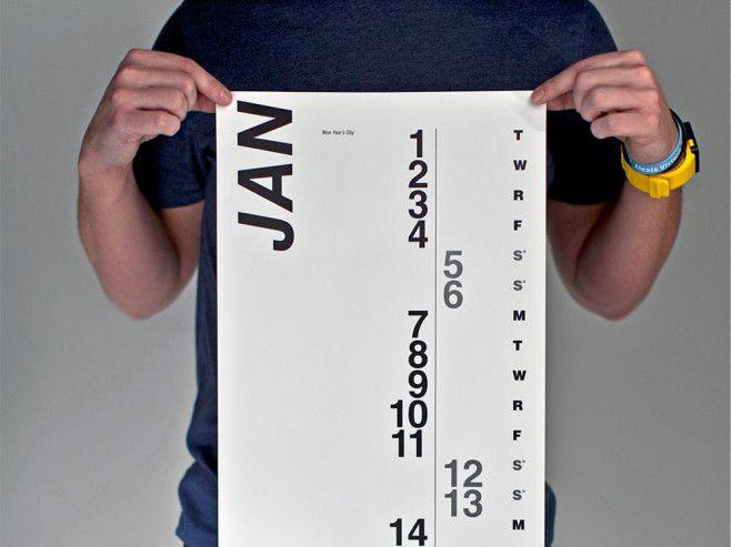 MAKE Collaboration 設計的大掛曆,是以時間軸的設計,還有90個事件貼紙,提醒添加你的生活!