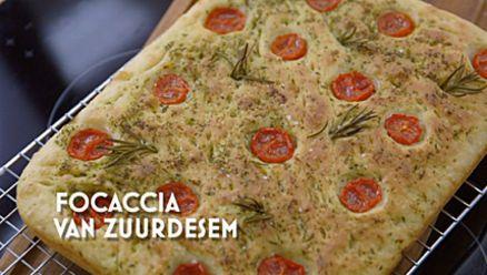 Heel Holland Bakt: Focaccia (recept Emma)