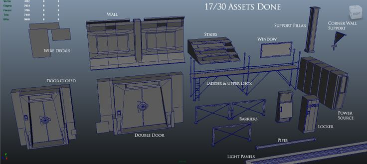 Assets_WIP_17-30 ( http://www.carlk3d.com/1st-year-final/wip-sci-fi-game-level-udk/, 2014 )