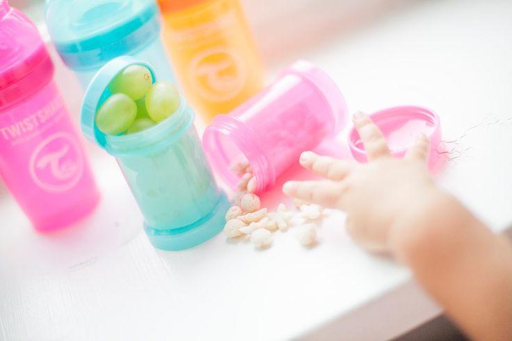 Контейнер Twistshake подойдёт не только для сухой смеси, но и для орешков, фруктов, ягод!💝 #abumba #ywistshake #бутылочки #малыши #кормление