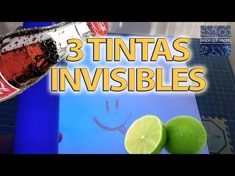Cómo hacer TINTA INVISIBLE con limón - Experimento casero para niños | Sr. Pupino - YouTube