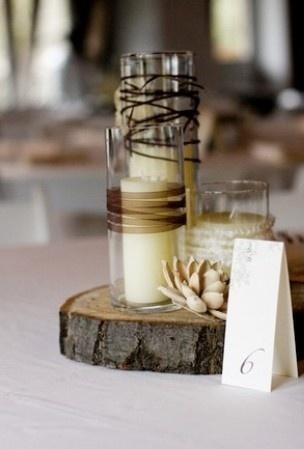 Table decoration idea - LOVE it