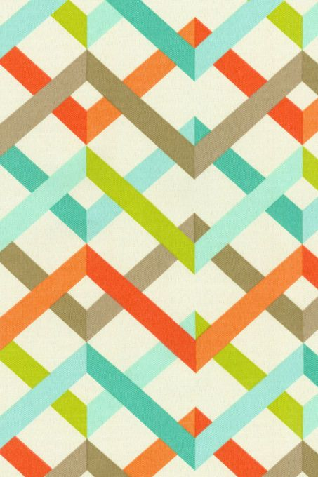 HGTV HOME Outdoor Fabric- Parallel Play Caribbean