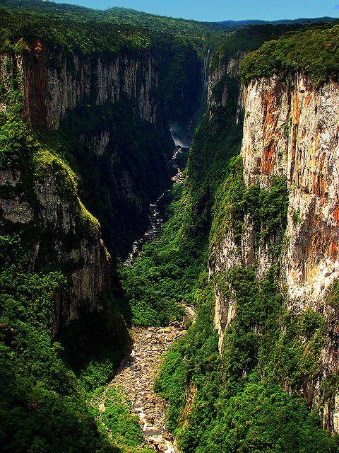 Cambará do Sul - Parque Nacional da Serra Geral - Rio Grande do Sul - Brasil