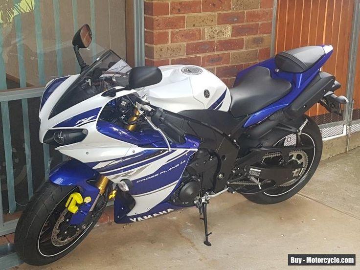 Yamaha R1 2014 blue/white brand new 1km new bike warranty until 2018 books etc #yamaha #r1 #forsale #australia