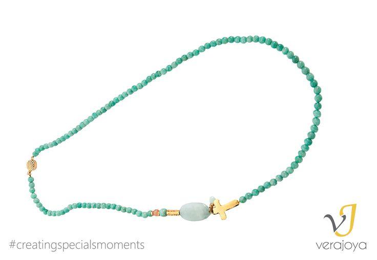 Regálale un collar artesanal hecho con mucho amor ;)  #SanValentín