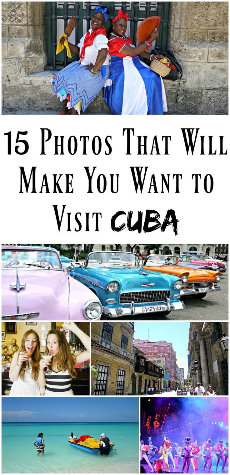 PIN FOR LATER: 15 photos that will make you want to visit Cuba! If you've been thinking of booking a vacation to Havana, this post may just persuade you how amazing Cuba is!