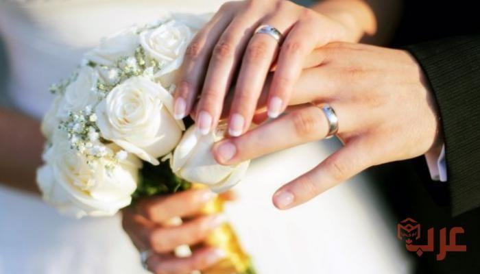 تفسير حلم الزواج في المنام لكبار المفسرين In 2020 Wedding Ring Groom Wedding Ring Models Crazy Wedding Photos