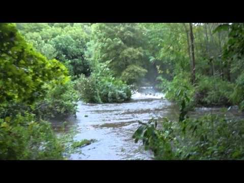Sunday, August 28, 2011: Hurricane Irene flood coverage Jefferson Township