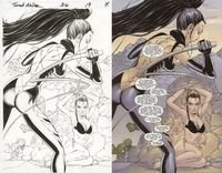 EVE by Tony Daniel - Comic Art Community GALLERY OF COMIC ART