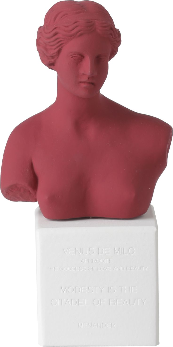 Venus Bust maroon