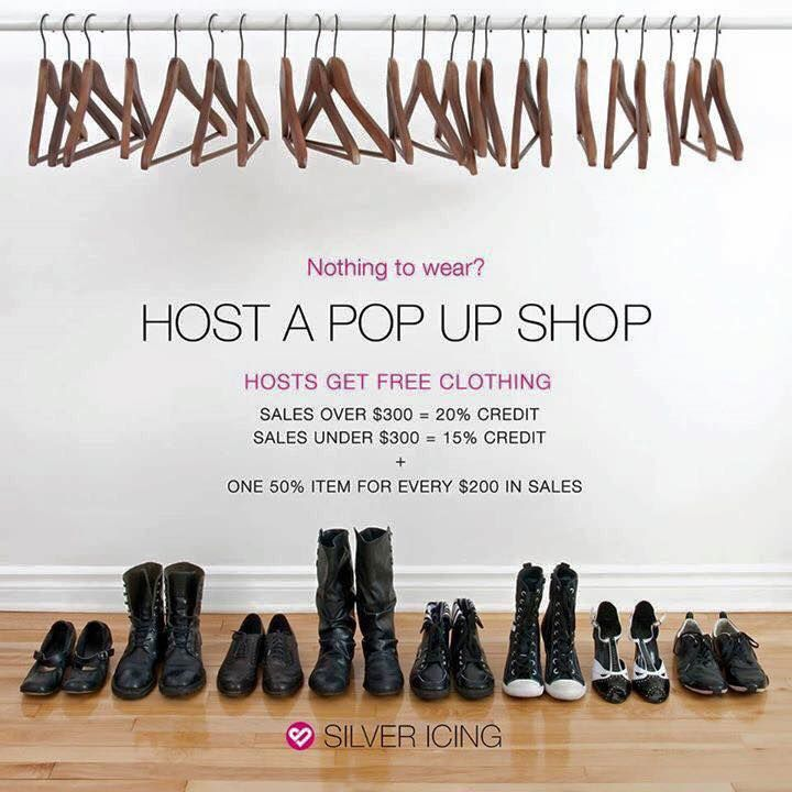 See some clothing you like but not sure if you want to splurge? Host a pop up shop with me and i can get you great discounts! Find me on Facebook https://www.facebook.com/Allison-Hill-your-Silver-Icing-Stylist-1502646696716294/ and message me to find out more!
