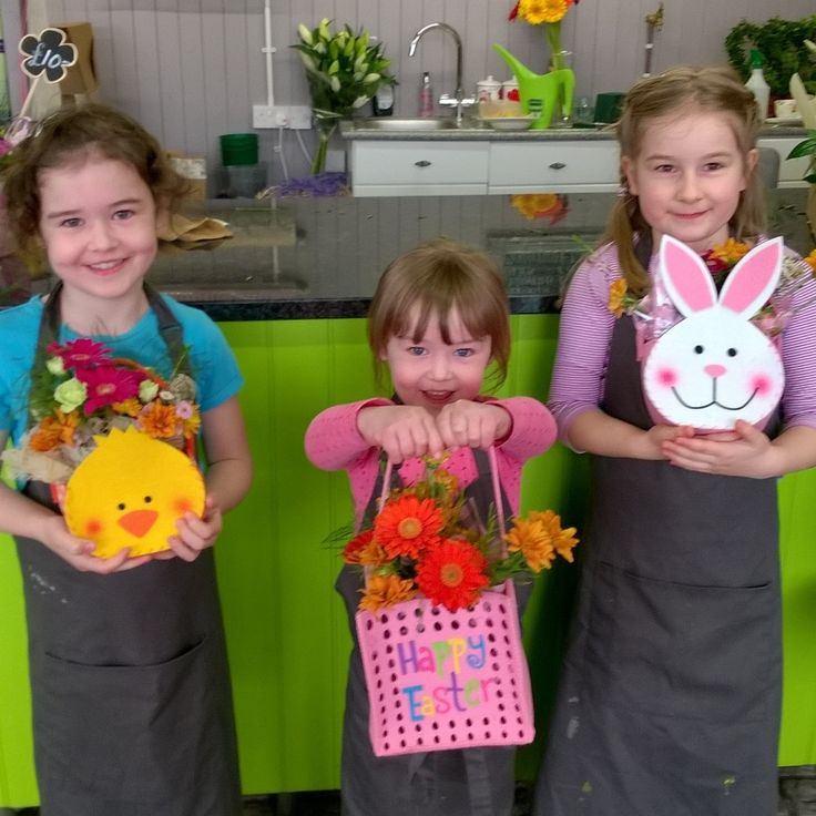 Easter flower workshop