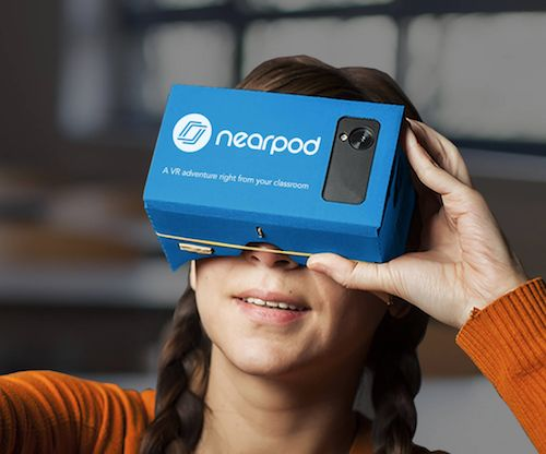 Virtual Reality Lessons & Grant Application from Nearpod