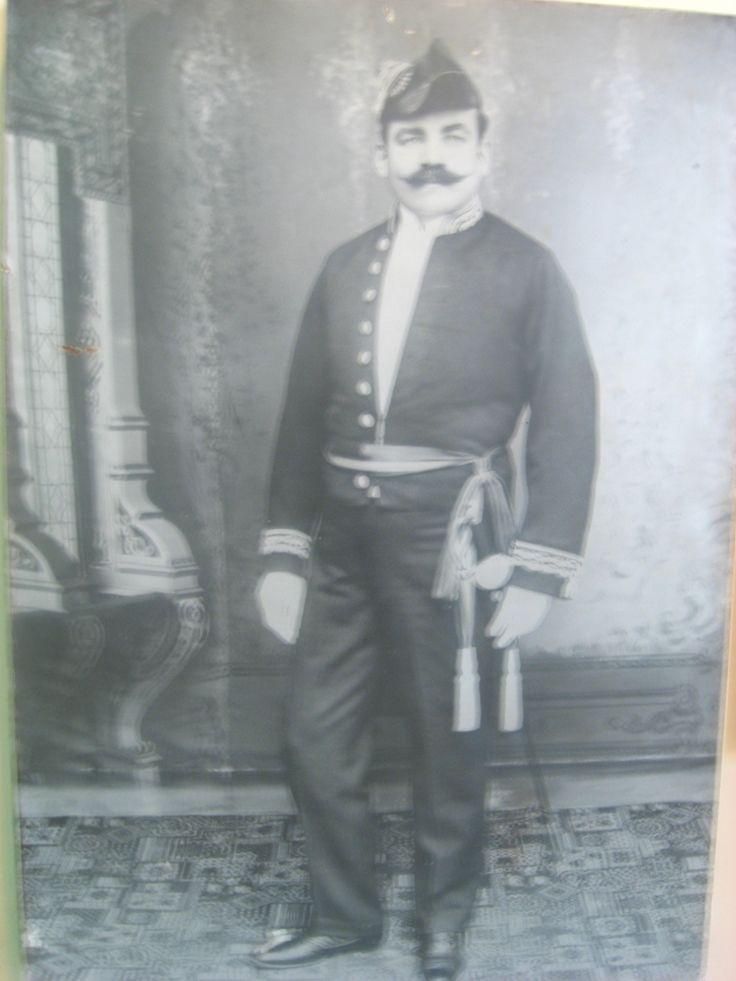 Primer director de la Policía Nacional de Colombia. El francés Juan María Marcelino Gilibert.