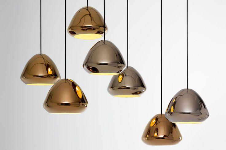 Glaze Metallic Pendant by Ross Gardam. Available from Stylecraft.com.au