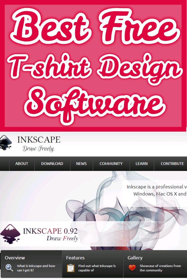 Best Free T Shirt Design Software Best Tshirt Design Software Adobe Illustrator Inkscape For T Shirt Design Software Free T Shirt Design Software Design