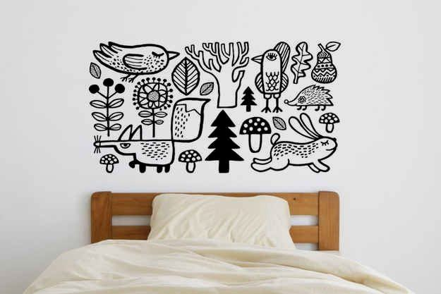 Wall Stickers Kmart Click Visit Link For More Details Wall Decals The Perfect Stick On Design Kid Room Decor Kids Room Wall Decals Nursery Wall Decals