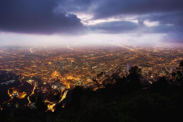 Una noche en Bogota :P