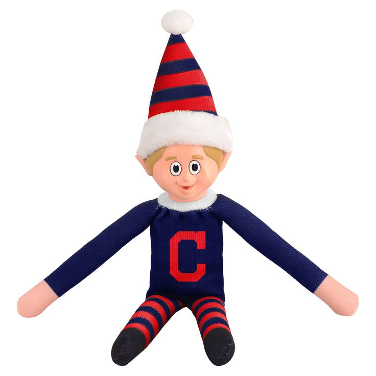 Forever Collectibles Cleveland Indians MLB Team Elf