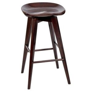 Boraam 29 in. Bali Swivel Bar Stool