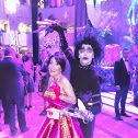 A scary night! Happy New Years 2016! A night to remember in Prague, Czech Republic at the Hilton Hotel! Wearing my Royalty dress to complement the venue!