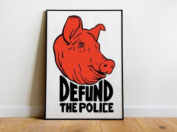 Defund The Police Socialism Resist Art Wall Art Anarchist Etsy Kids Room Prints Wall Art Art
