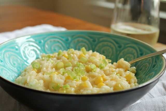 out Sweet Corn Risotto. It's so easy to make!   Sweet corn, Sweet ...