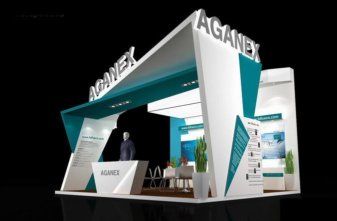Exhibition Booth Free Download : Exhibition area dmax  d model pinterest