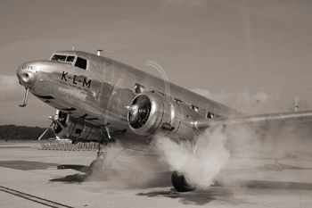 vintage air planes | klm_vintage_airplane