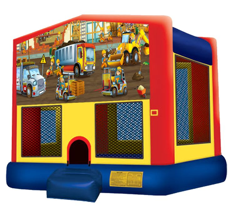 Construction Bounce House Rentals in Austin Texas from Austin Bounce House Rentals